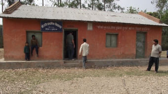 Sucrawar Elementary School, second school of the nepal project