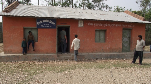 Sucrawar Elementary School, second school of the nepal project
